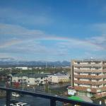 GLAYマジックで奇跡が起こる!アリーナ初日に大きな虹が!